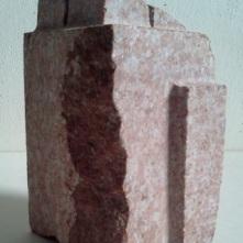 OBIEKTON GRANICZNY-granit/ H- 19,5 cm